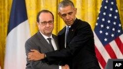 اوباما: ایالات متحده و فرانسه در کشاندن دهشت افگنان به عدالت متحد اند
