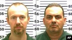 Dia napi yang kabur dari penjara di Dannemora, New York, David Sweat (kiri) dan Richard Matt (foto: dok).