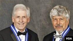 Znanstvenici John Seinfeld i Kirk Smith, dobitnici nagrade Tyler za rad na području zaštite okoliša
