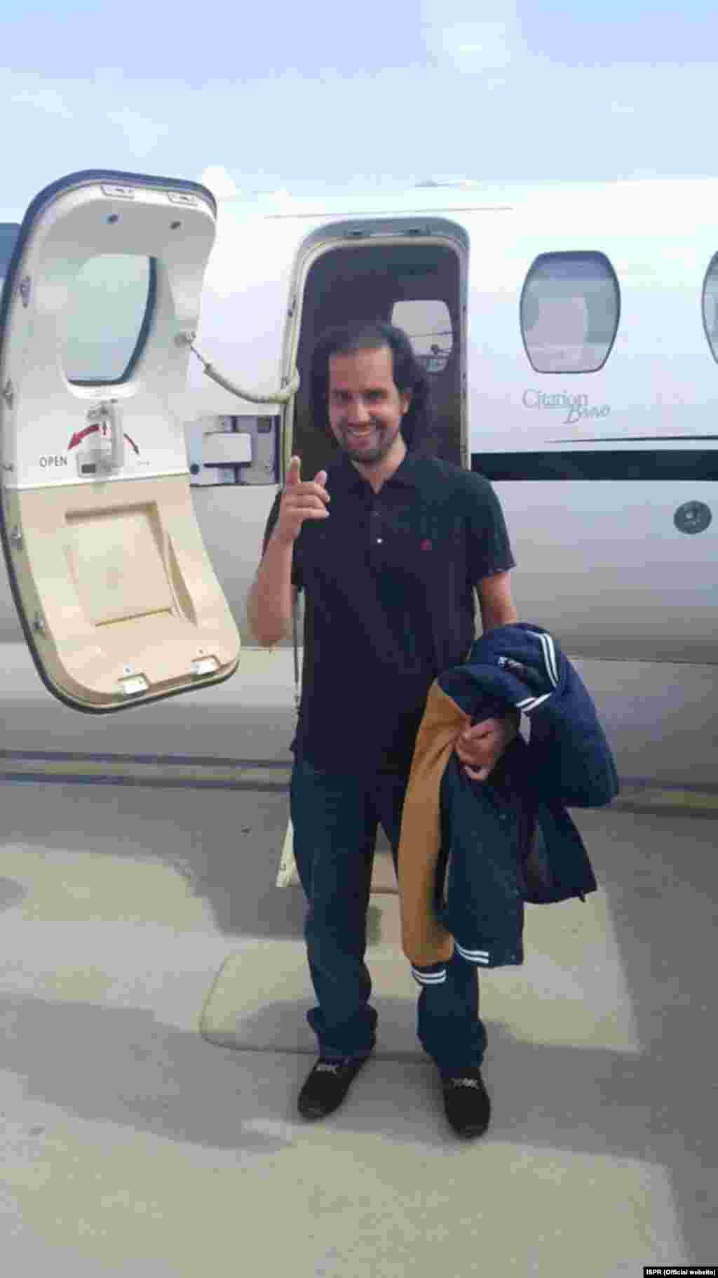 شہباز تاثیر کو ایک روز قبل بلوچستان کے علاقے کچلاک سے بازیاب کروایا گیا تھا۔