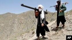 Các thành viên nhóm ly khai Taliban ở Shindand, Afghanistan.