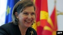 빅토리아 눌런드 미 국무부 대변인. (자료사진)