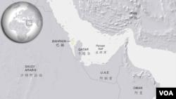 巴林王國地理位置。