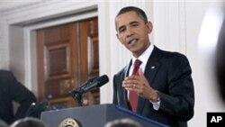 중간선거 투표 하룻만인 3일, 백악관에서 기자회견을 가진 오바마 미 대통령