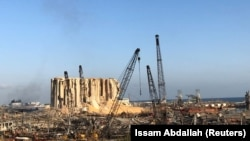 Luka u Bejrutu posle eksplozije