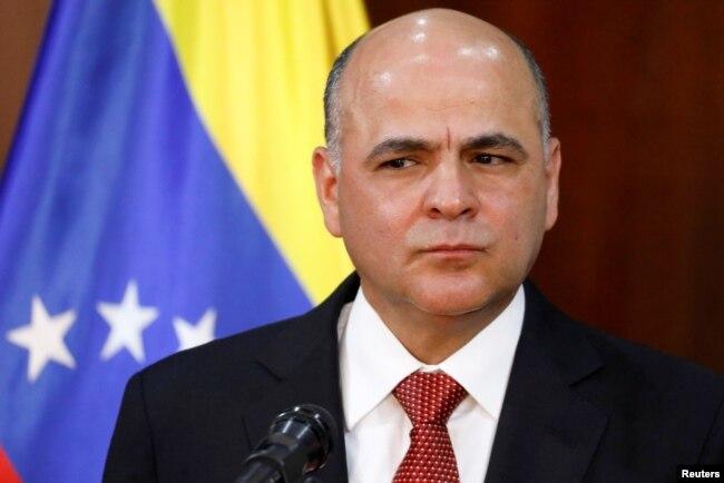 Manuel Quevedo fue eligido por el mandatario venezolano, Nicolás Maduro, para dirigir PDVSA en noviembre de 2017.