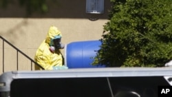 Kayan da aka fitar daga wanda yake fama da cutar ebola Thomas Duncan