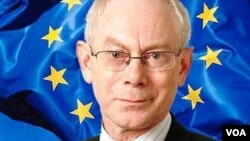 Avropa İttifaqının prezidenti Herman van Pompey