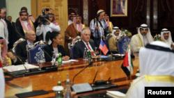 El Secretario de Estado de EE.UU. culminó el miércoles las conversaciones con ministros del Golfo.