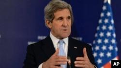 Госсекретарь США Джон Керри (архивное фото)