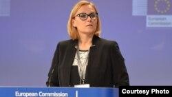Juru bicara Komisi EropaMaja Kocijancic