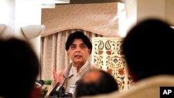 چودهری نثار علی خان در یک کنفرانس خبری در اسلام آباد - آرشیو