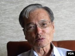 研究中国的前东京广播系统电视报道中国政治的记者田畑光永对现代中国对日外交深表失望