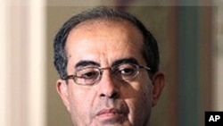 Mahmoud Jibril, leader of the Transitional Council (file)