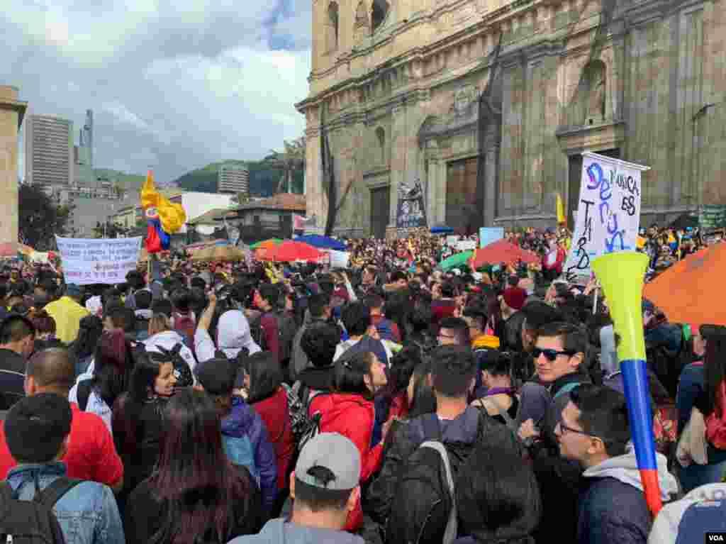 Sigue sin estar claro hasta qué punto el Comité Nacional del Paro representa a los manifestantes en unas protestas que se han convertido en una muestra del malestar ciudadano.