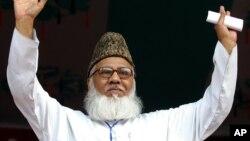 အစိုးရ၀န္ႀကီးအဖြဲ႔၀င္ေဟာင္း တဦးျဖစ္တဲ့ အသက္ ၇၁ ႏွစ္အရြယ္ Maulana Matiur Rahman Nizami