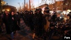 六天抗议后,一派萧杀的德黑兰