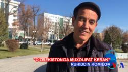 """Toshkentdan maxsus: """"O'zbekistonga siyosiy muxolifat kerak"""""""