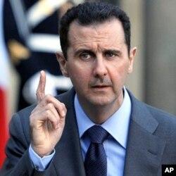 Le président syrien Bashar el-Assad