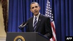 Američki predsednik Obama rekao novinarima da je postigao kompromis sa republikancima, 06. decembar 2010.