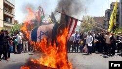 تظاهرات روز قدس در تهران