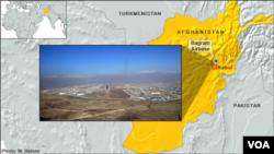 Căn cứ không quân Bagram ở Afghanistan