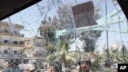 Barnar da tashin bam ya yiwa wata motar soja a Daraa