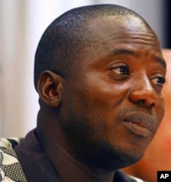 Brima Abdulaai Sheriff, the director of the Sierra Leone branch of Amnesty International in Freetown