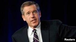"""Brian Williams, penyiar televisi AS yang sebelumnya merupakan pembaca berita malam """"NBC Nightly News"""" (foto: dok)."""