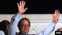 Setelah hampir eluruh suarat suara dihitung, partai yang dipimpin Mantan PM Pakistan Nawaf Sharif menang telak dalam Pemilu Pakistan (Foto: dok).