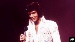 Элвис Пресли. Архивное фото 1973г.