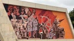 Mural na Fortaleza de São Miguel, Luanda em Angola