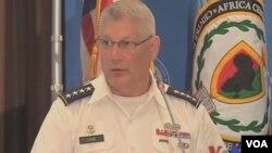 驻非美军司令卡特•哈姆上将