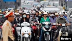 Hà Nội, nơi trong nhiều năm qua được coi là có mức độ ô nhiễm cao nhất nhì thế giới