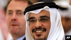 Bahrain Crown Prince Salman bin Hamad al-Khalifa (file photo)