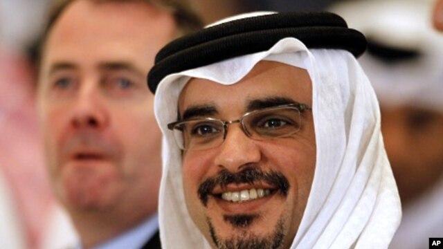 Bahrain Crown Prince Salman bin Hamad al-Khalifa (file photo)