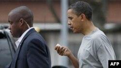 Prezident Obama basketbol oyununda xəsarət alıb