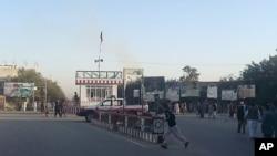 میدان اصلی شهر قندوز - ۹ مهر ۱۳۹۴