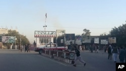چوک شهر کندز سه روز در تصرف طالبان بود