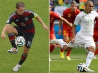 Germany versus Algeria