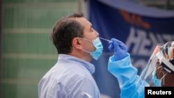 Uhlolwa igcikwane le coronavirus kweleMelika.
