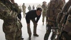 کامرون: بريتانيا عمليات نظامی در افغانستان را تمديد نخواهد کرد