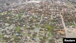 شهر بیرا در موزامبیک زیر آب رفته است