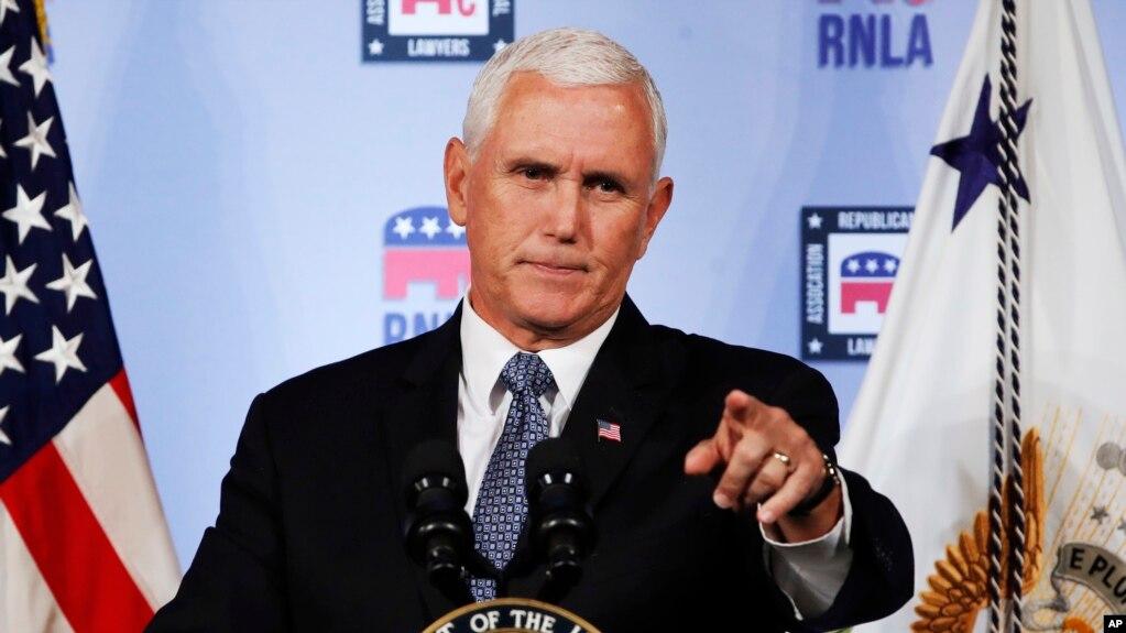 """""""Yo no fui"""", dijo el Vice presdiente de EE.UU. Mike Pence, sobre el artículo de opinión anónimo del New York Times. Hasta ahora, nadie ha dado la cara."""