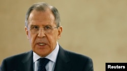 FILE - Russian Foreign Minister Sergei Lavrov.