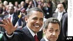 Президенты США и Франции о путях к миру на Ближнем Востоке
