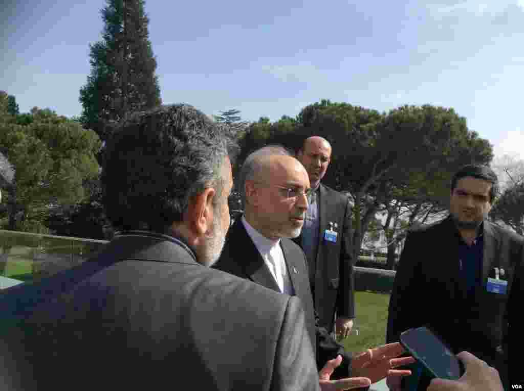 علی اکبر صالحی، رییس سازمان انرژی اتمی ایران، پیش از پایان مذاکرات از باقی ماندن تنها یک موضوع فنی خبر داده بود.
