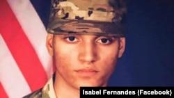 Elder Fernandes, soldado americano, nascido em Cabo Verde