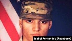Elder Fernandes, soldado americano nascido em Cabo Verde