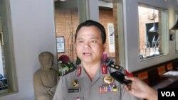 Kadiv Humas Mabes Polri Irjen Ronnie F Sompie di Jakarta, 26 Februari 2014 (VOA/Andylala)